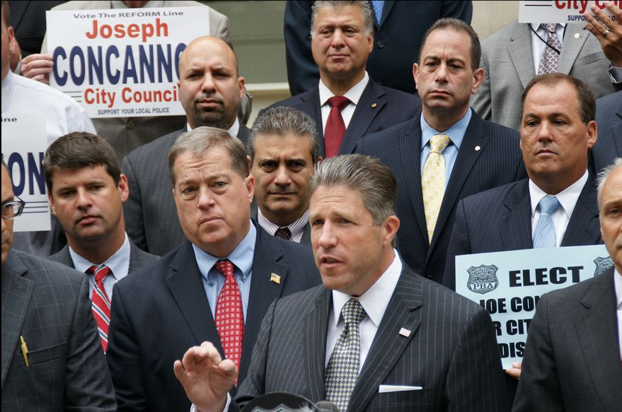 NYC PBA President Pat Lynch Endorses Joe Concannon