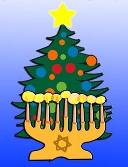 Christmas and Chanukkah-sm