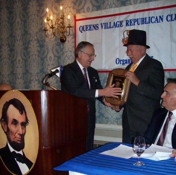 Senator Frank Padavan and Jim Trent