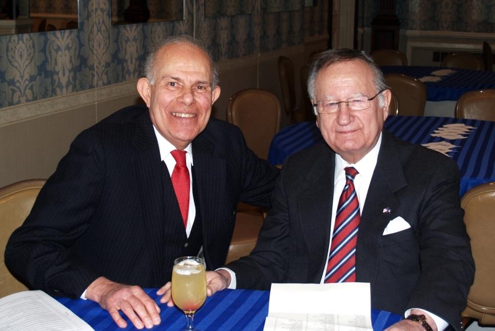 Senator Padavan and Phillip Sica, past president of QVRC