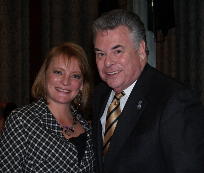 Rep. King and Janet Maderick