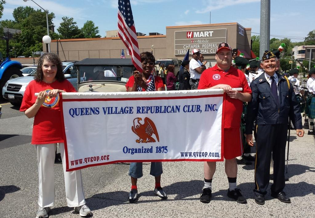 QVGOP Marching unit with 2 cars and 30 marchers