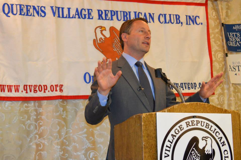 Rob Astorino presents his winning strategy for governor of NYS