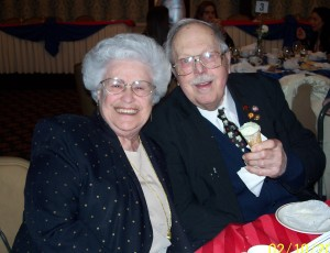 Mary and Harvey Moder at a past Lincoln Day Dinner Celebration