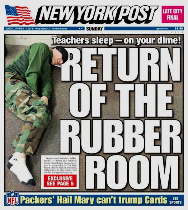 Rubber Room - NY Post