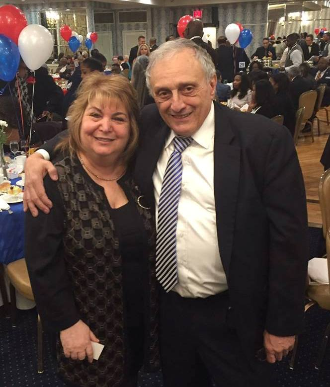 Carl Paladino with Ann Schockett, president of the NYS Federation of Republican Women