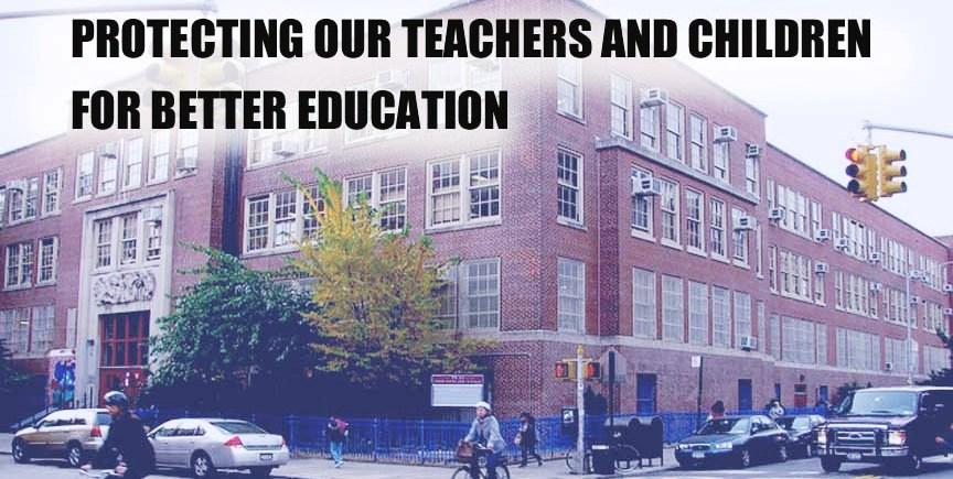 Protecting our Teachers logo-No Joe