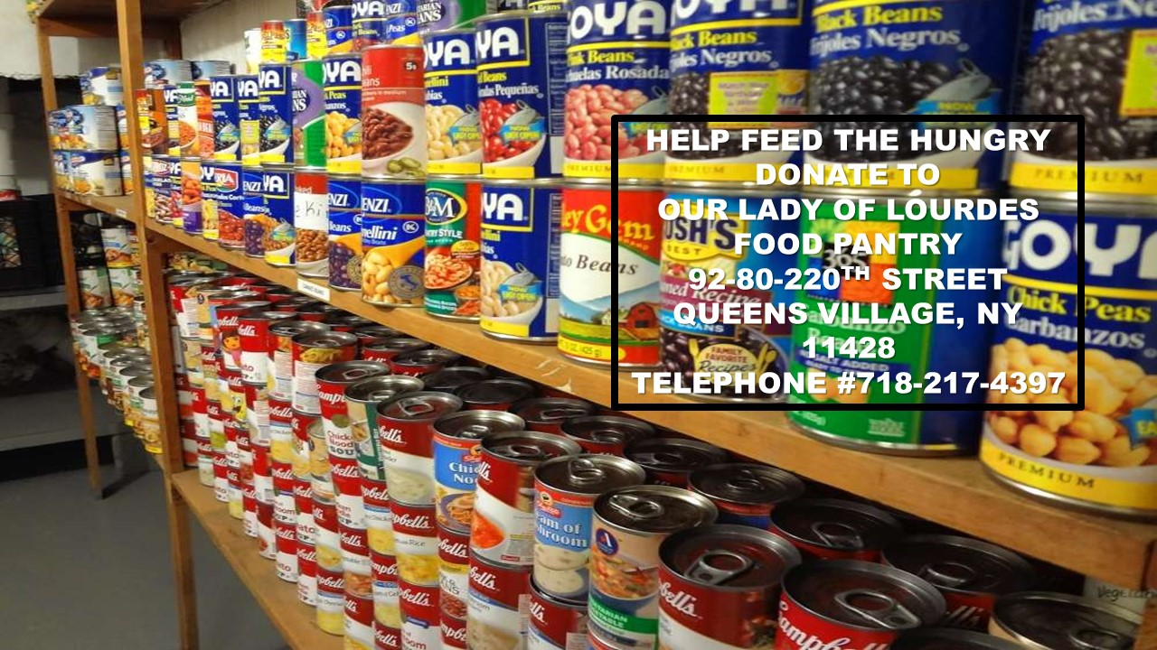 Our Lady of Lourdes Food Pantry The Queens Village Republican