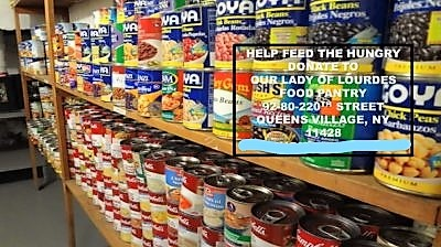 Our Lady Of Lourdes Food Pantry The Queens Village Republican Club