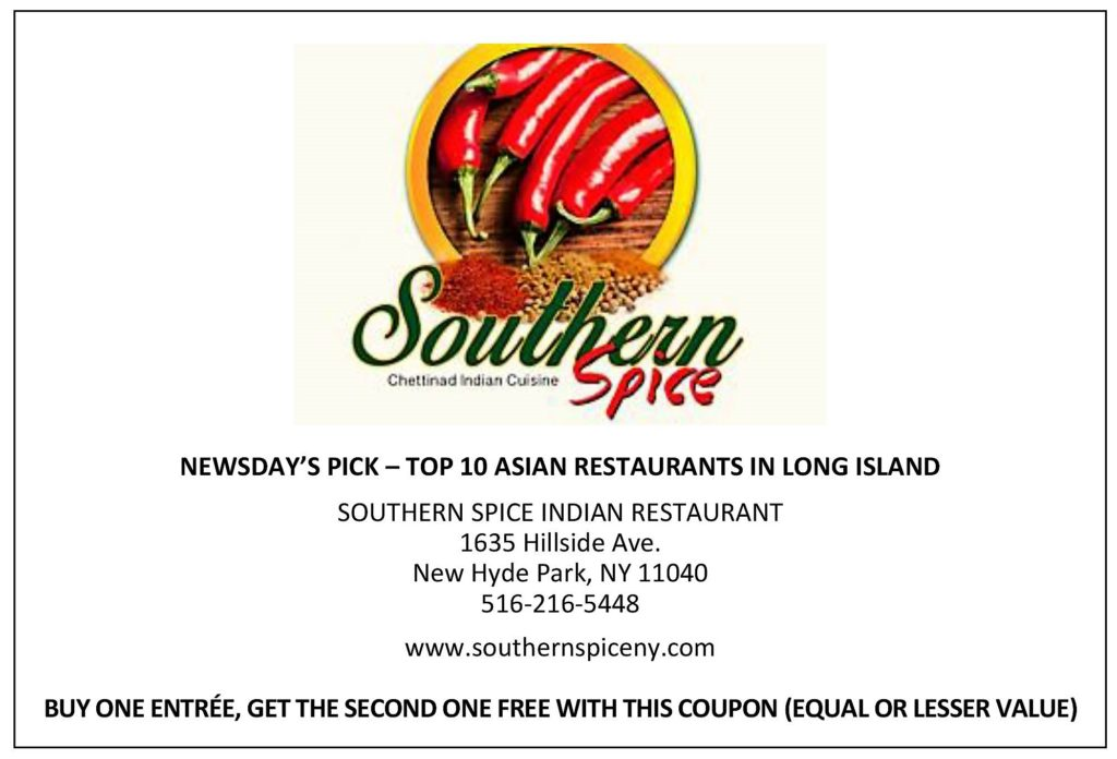 Southern Spice Indian Restaurant The Queens Village