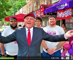 Curtis Sliwa in Astoria Queens takes on AOC and DSA