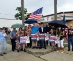 Curtis Sliwa for Mayor Motorcade Barnstorms through Queens